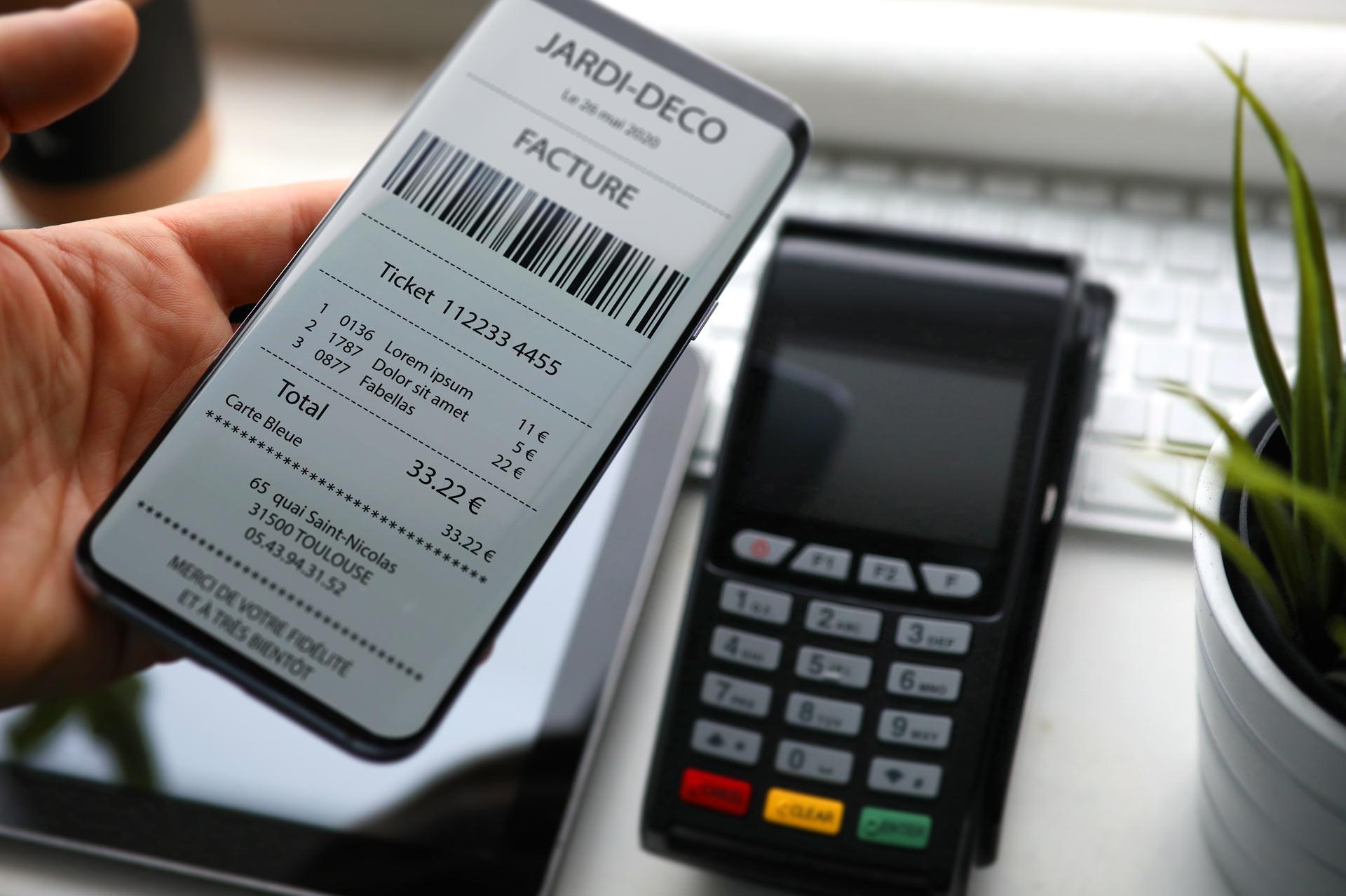 Le ticket de caisse dématérialisé, un levier de fidélisation de taille pour les commerçants !